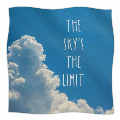The Skys The Limit Square By Bruce Stanfield Fleece Blanket Size: 60 L x 50 W x 1 D