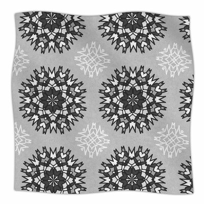 Princess by Nika Martinez Fleece Blanket Size: 50 W x 60 L, Color: Black/White