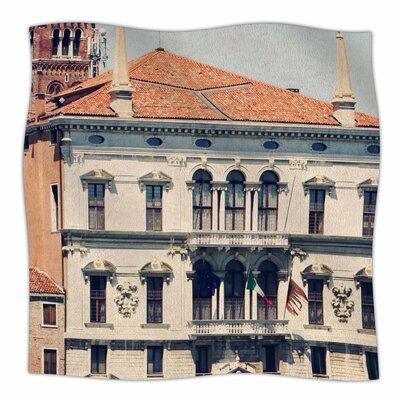 Venice 6 By Sylvia Coomes Fleece Blanket Size: 80 L x 60 W x 1 D
