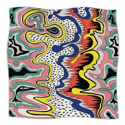 Modern Expression By DLKG Design Fleece Blanket Size: 80 L x 60 W x 1 D