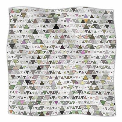 Triangulation  By Angelo Cerantola Fleece Blanket Size: 80 L x 60 W x 1 D