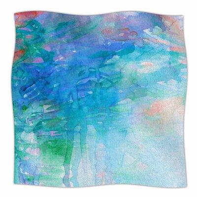 Childlike Wonder By Ebi Emporium Fleece Blanket Size: 80 L x 60 W x 1 D