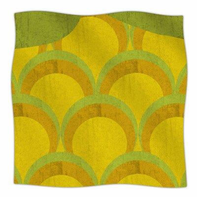 Pineapple By Kelly Kathleen Fleece Blanket Size: 60 L x 50 W x 1 D