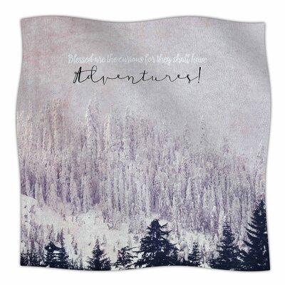 Adventures By Robin Dickinson Fleece Blanket Size: 60 L x 50 W x 1 D