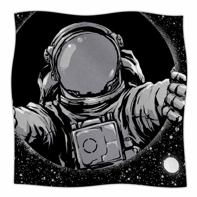 Hole By Digital Carbine Fleece Blanket Size: 80 L x 60 W x 1 D