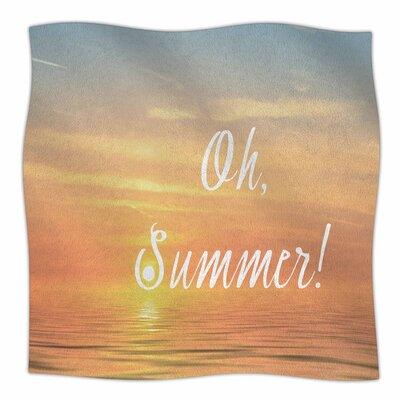 Oh By Alison Coxon Fleece Blanket Size: 60 L x 50 W x 1 D