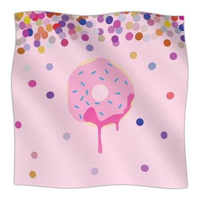 Sprinkles Fleece Blanket Size: 60 L x 50 W x 1 D