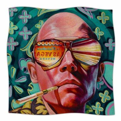 Bad Trip By Jared Yamahata Fleece Blanket Size: 80 L x 60 W x 1 D