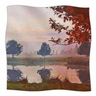 Magic Morning By Pellerina Design Fleece Blanket Size: 60 L x 50 W x 1 D