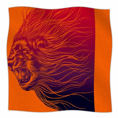 Furious By BarmalisiRTB Fleece Blanket Size: 80 L x 60 W x 1 D
