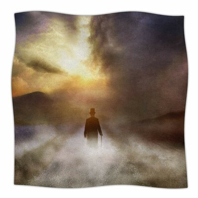 Day Dream By Viviana Gonzalez Fleece Blanket Size: 80 L x 60 W x 1 D