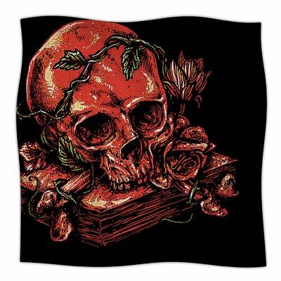 Dark History By BarmalisiRTB Fleece Blanket Size: 80 L x 60 W x 1 D