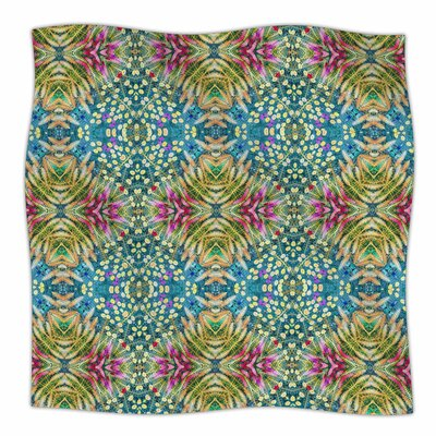 Prairie Dazzler By Laura Nicholson Fleece Blanket Size: 60 L x 50 W x 1 D