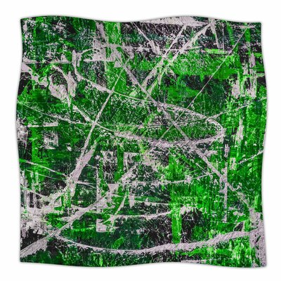 Jade By Bruce Stanfield Fleece Blanket Size: 80 L x 60 W x 1 D