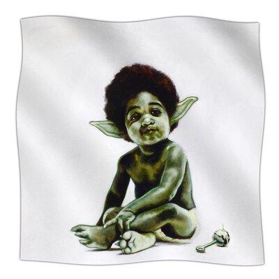 Ready To JEDI By Jared Yamahata Fleece Blanket Size: 80 L x 60 W x 1 D