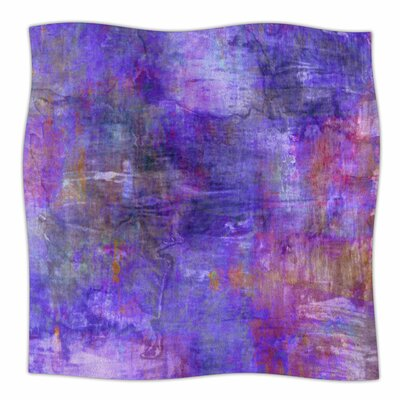 Fog By Ebi Emporium Fleece Blanket Size: 80 L x 60 W x 1 D
