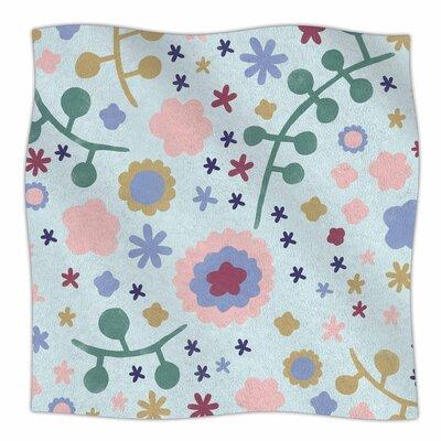 Morning Flowers By Alik Arzoumanian Fleece Blanket Size: 80 L x 60 W x 1 D