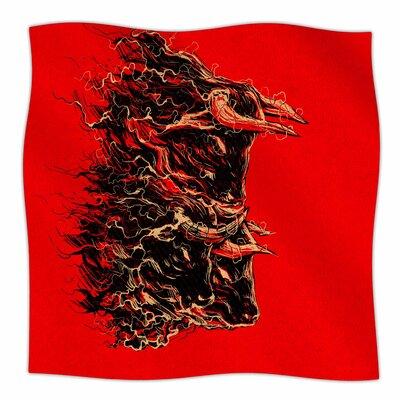 Bull By BarmalisiRTB Fleece Blanket Size: 80 L x 60 W x 1 D