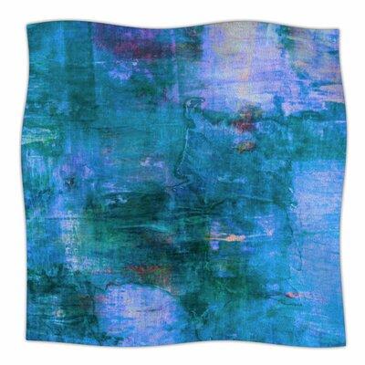 The Reef By Ebi Emporium Fleece Blanket Size: 60 L x 50 W x 1 D