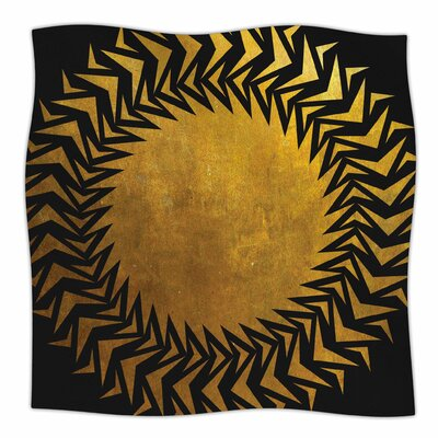 Gilded Chaos By Matt Eklund Fleece Blanket Size: 80 L x 60 W x 1 D