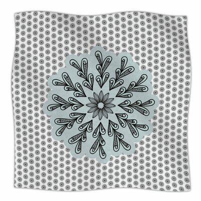 My Flower By Shirlei Patricia Muniz Fleece Blanket Size: 60 L x 50 W x 1 D