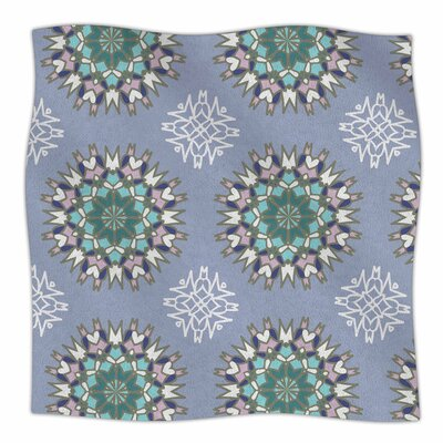 Princess by Nika Martinez Fleece Blanket Color: Purple, Size: 60 W x 80 L