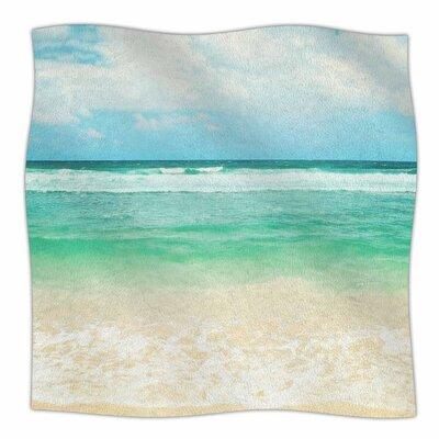 Endless Sea By Sylvia Cook Fleece Blanket Size: 80 L x 60 W x 1 D