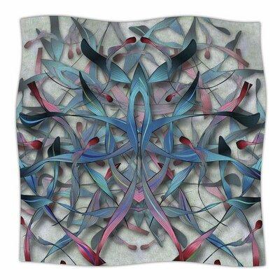 Wax And Wayne By Angelo Carantola Fleece Blanket Size: 80 L x 60 W x 1 D