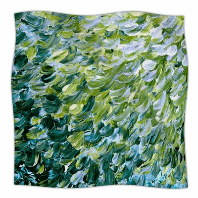 Frosted Feathers By Ebi Emporium Fleece Blanket Size: 60 L x 50 W x 1 D