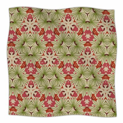 Thalia By Laura Nicholson Fleece Blanket Size: 80 L x 60 W x 1 D