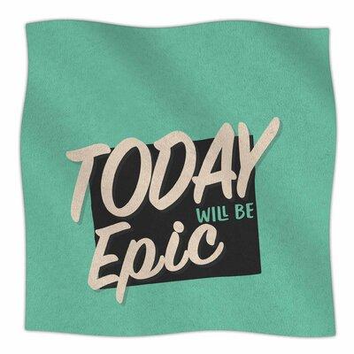 Epic Day By Juan Paolo Fleece Blanket Size: 60 L x 50 W x 1 D