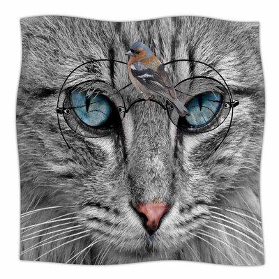 Birds Eye View By Suzanne Carter Fleece Blanket Size: 80 L x 60 W x 1 D
