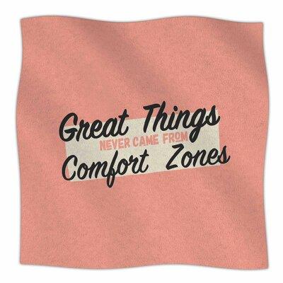 Great Things By Juan Paolo Fleece Blanket Size: 60 L x 50 W x 1 D