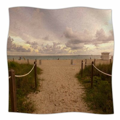 Walkway To Heaven By Rosie Brown Fleece Blanket Size: 80 L x 60 W x 1 D