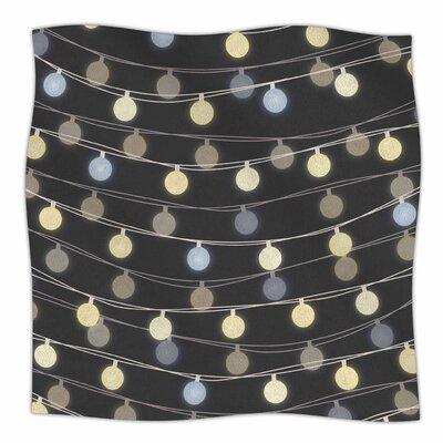 Fairy Lights By Marta Olga Klara Fleece Blanket Size: 80 L x 60 W x 1 D