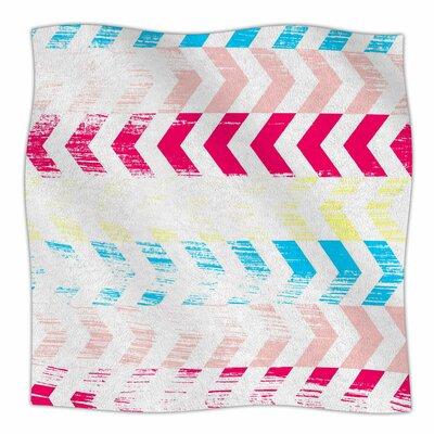 Arrow By Louise Machado Fleece Blanket Size: 60 L x 50 W x 1 D