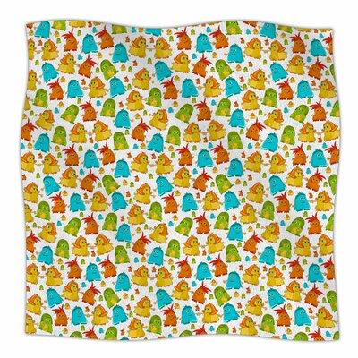 Good Monsters By Alisa Drukman Fleece Blanket Size: 80 L x 60 W x 1 D