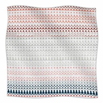 Pine Revel By Bridgette Burton Fleece Blanket Size: 60 L x 50 W x 1 D