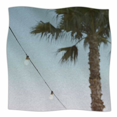 Summer Nights By Kristi Jackson Fleece Blanket Size: 80 L x 60 W x 1 D