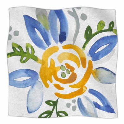 Buttercup By Jennifer Rizzo Fleece Blanket Size: 60 L x 50 W x 1 D