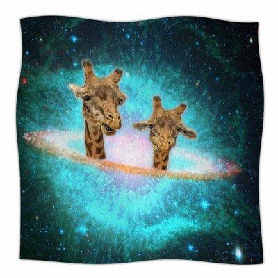 Fred & Larry By Suzanne Carter Fleece Blanket Size: 60 L x 50 W x 1 D