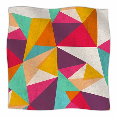 Diamond By Kelly Kathleen Fleece Blanket Size: 80 L x 60 W x 1 D