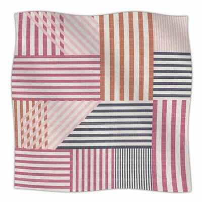 Mod Linework By Pellerina Design Fleece Blanket Size: 80 L x 60 W x 1 D
