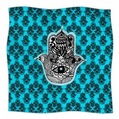 The Eye By Shirlei Patricia Muniz Fleece Blanket Size: 80 L x 60 W x 1 D