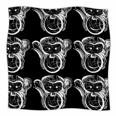 Monkey By Maria Bazarova Fleece Blanket Size: 80 L x 60 W x 1 D