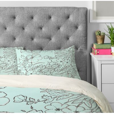 Dotted Floral Pillowcase