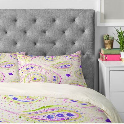 Watercolor Paisley Pillowcase