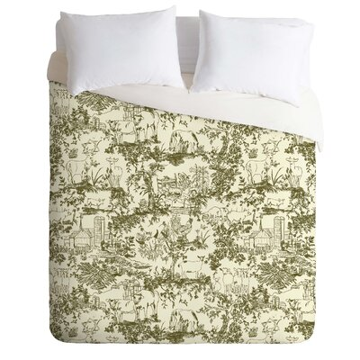 Vintage Duvet Cover Size: Queen
