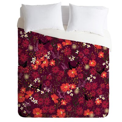 Joy Laforme Blackbird Sings Duvet Cover Size: Twin/Twin XL