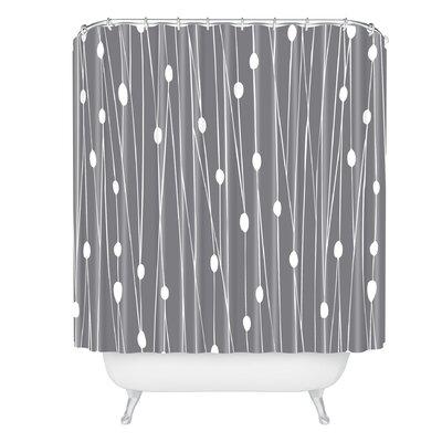 Heather Dutton Gray Entangled Shower Curtain